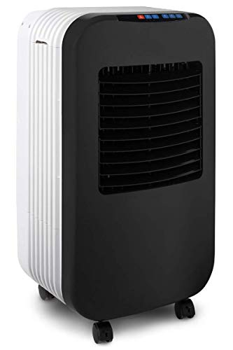 Briza Cool (Black) - Air Cooler, Evaporative Air Cooler, Portable Air Conditioner, Bedroom Air Cooler, Personal Air Conditioner, Lowers Ambient Room Tempera- Cools large rooms - 20x14x37 inches - 120W