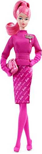 Barbie FXD50 - Signature Proudly Pink Collector pop Fashion Model Collection, Gold Label verzamelpop