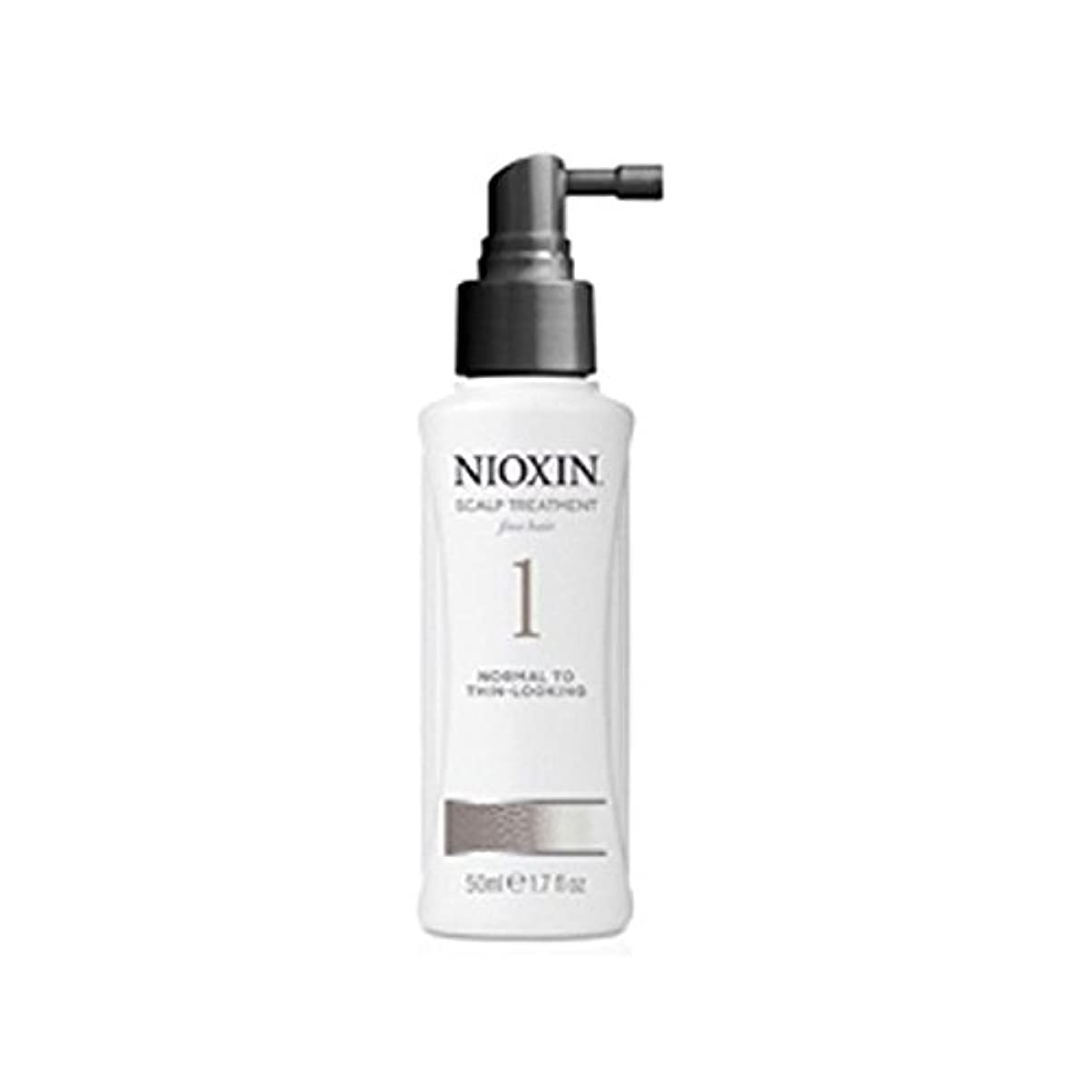 混雑広告する送った細かい自然な髪への通常のためニオキシンシステム1スカルプトリートメント(100ミリリットル) x4 - Nioxin System 1 Scalp Treatment For Normal To Fine Natural Hair (100ml) (Pack of 4) [並行輸入品]