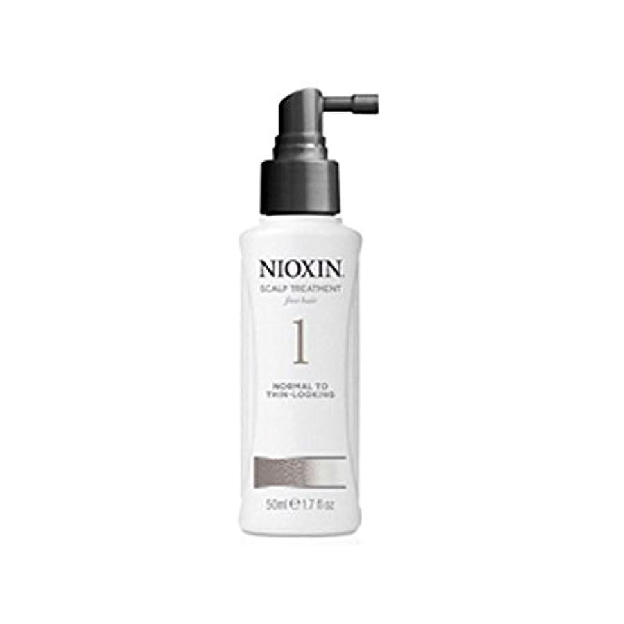差別化する仲良しステープルNioxin System 1 Scalp Treatment For Normal To Fine Natural Hair (100ml) - 細かい自然な髪への通常のためニオキシンシステム1スカルプトリートメント(100ミリリットル) [並行輸入品]