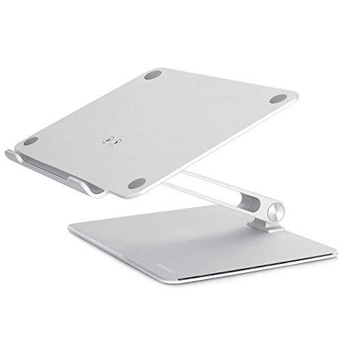 Soporte para Computadora Portátil Ergonómico de Aluminio Soporte de Escritorio Ajustable Compatible para Computadora Portátil de 11-16 Pulgadas