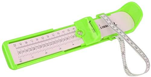 SLL Spielzeug Infant Baby-Kind-Fuß-Messwerkzeug Kinderschuh Montagevorrichtung for Länge Wachstum Grün