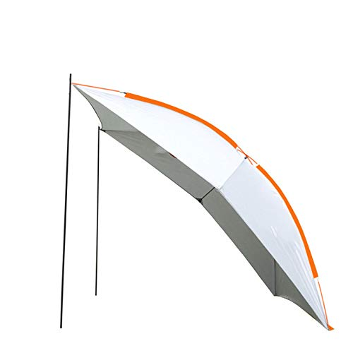Car Canopy Tent Sunshade And Rainproof Pavilion Shed Cloth Outdoor Camping Car Tent Car Outdoor Car Side Camping Self-Driving Tour,Orange