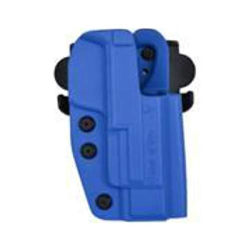 Comp-Tac International OWB Kydex Right Hand Blue Holster - Belt, Paddle, Drop Offset