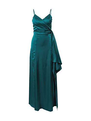 Chi Chi London Damen Abendkleid Rachelle Petrol 12 (40)
