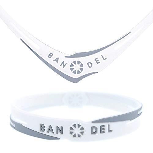 バンデル クロス ネック&ブレス セット 限定ホワイトグレー Mサイズ