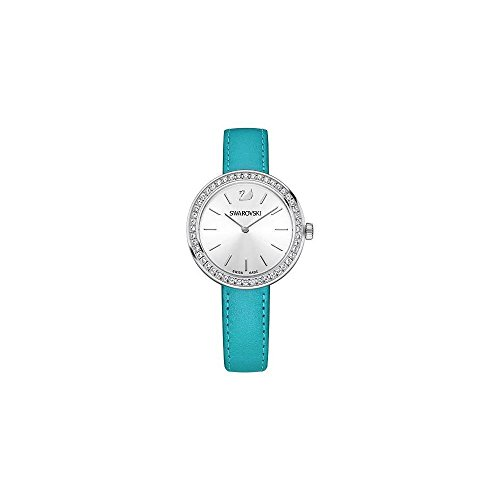 SWAROVSKI Daytime LS Lagoon/Wht/STS - Reloj de Pulsera para Mujer, Color Turquesa
