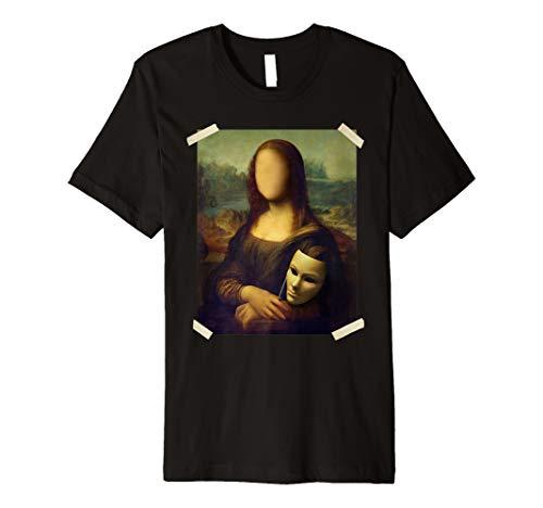 La Gioconda Mona Lisa T-Shirt - Berühmte Gemälde Geschenk