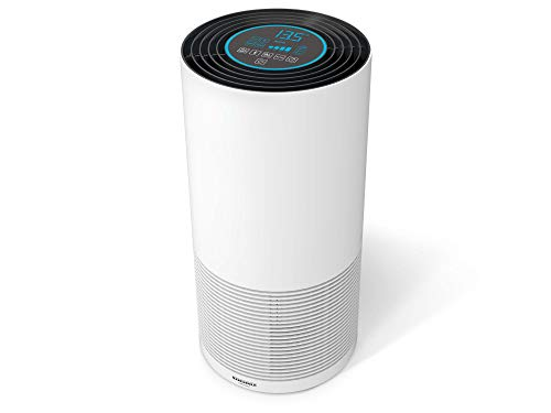 Soehnle Airfresh Clean Connect 500 mit Bluetooth Luftreiniger mit App-Anbindung, Air Purifier vernichtet Partikel, Luftwäscher für beste Luftqualität
