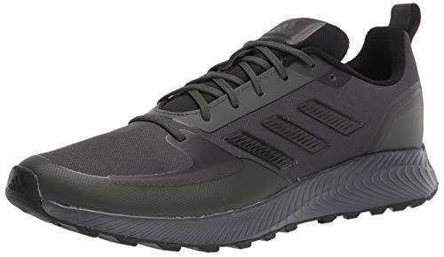 adidas Men's Runfalcon 2.0 TR Running Shoe, Earth/Black/Grey, 11