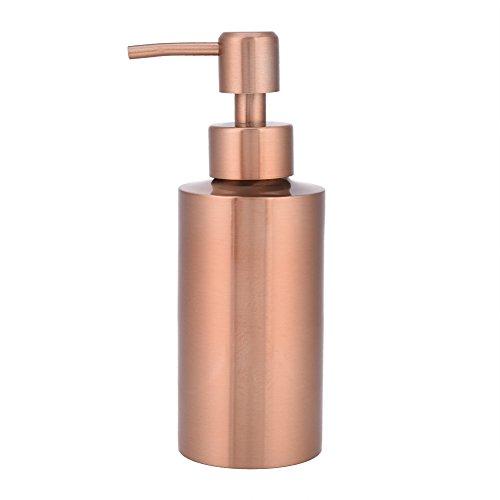 Scopri offerta per Dispenser di sapone disponibile in 3 misure, Dispenser di lozione in acciaio inossidabile, Contenitore del sapone, Bottiglia per pompa del liquido. Ottimo per lozioni, olio essenziale(550ml)