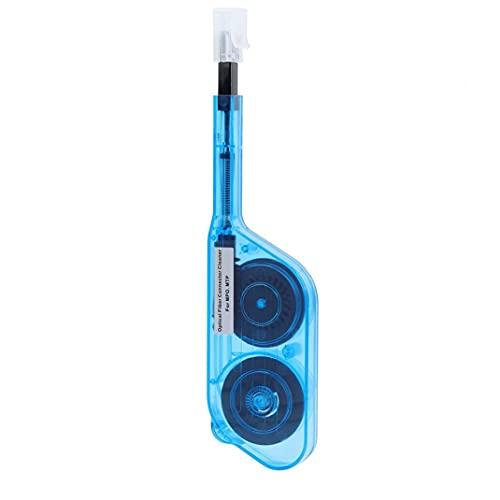 Limpiador de fibra óptica de un clic MPO MTP conector de fibra óptica extremo del adaptador de cara pluma de la limpieza, la limpieza de la fibra de la pluma