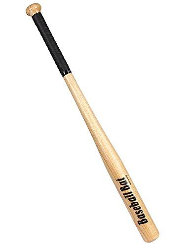 Latinaric - Mazza da baseball in legno di rovere, per baseball o per autodifesa, 60 cm/74 cm/80 cm,...