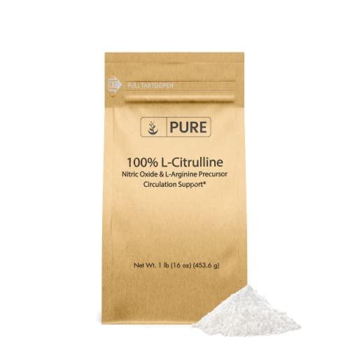 L-Citrulline Powder (1 lb) Pure Non-Essential Amino Acid, Preservative-Free