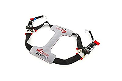 AceBikes TyreFix Deluxe Motorcycle Tie-Down WITH ratchet straps