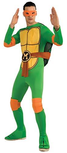 Aec–CS987251–Disfraz de Michelangelo de Las Tortugas Ninja–TMNT–Talla única