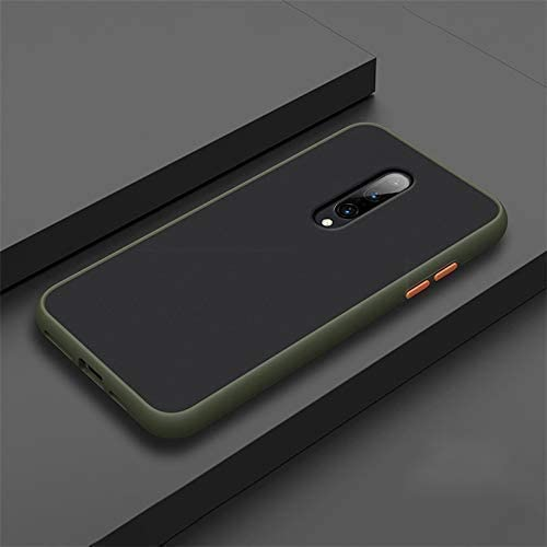 Lejaao Back Cover for Redmi K20 Pro Smoke Case Clear Minimalist Transparent PC Back TPU Bumper Drop Protection Scratch Resistant Natural Shape Protective Cover for Redmi K20 Pro Smoke Dark Green