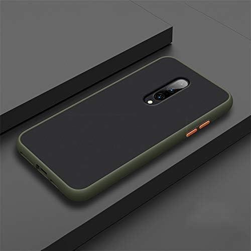 Lejaao Back Cover for Redmi K20 Pro Smoke Case Clear Minimalist Transparent PC Back TPU Bumper Drop Protection Scratch Resistant Natural Shape Protective Cover for Redmi K20 Pro Smoke Dark Green