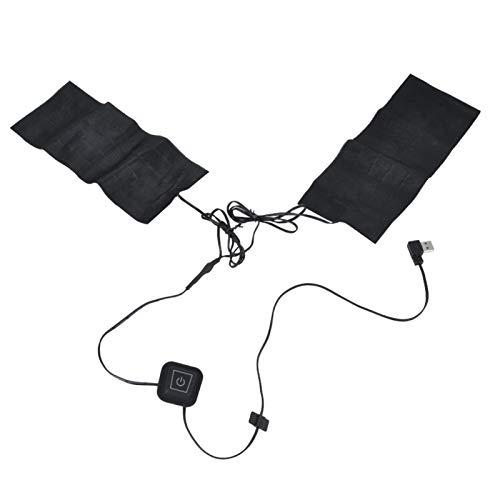Germerse Calentador de Cuello Almohadilla térmica USB 5V Paño Calefactor para Uso doméstico