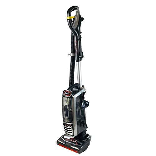 Shark DuoClean Upright Vacuum for Carpet and Hard Floor Cleaning with Lift-Away Hand VacuumHEPA Filterand Anti-Allergy Seal (NV771) Black/Red (Renewed)