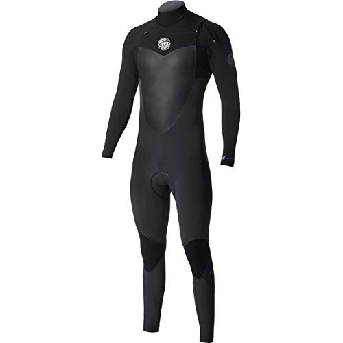 Rip Curl Flashbomb Wetsuit   Men's Full Suit Chest Zip Wetsuit for Surfing, Watersports, Swimming, Snorkeling   Lightweight, Fast Drying Design for Durability   3/2mm