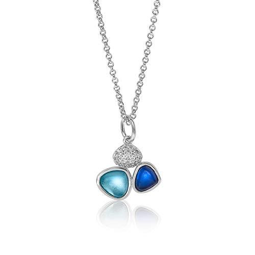Zinzi Jewels 925 Sterling Zilveren Ketting ZIC1786B (Lengte: 42.00-45.00 cm)