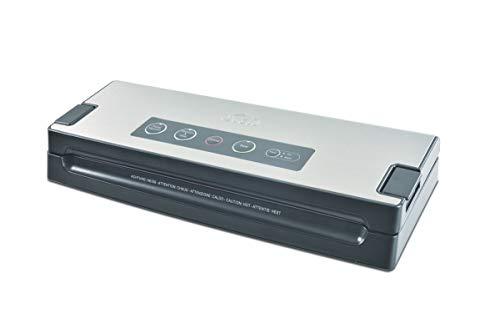 Solis Vakuumiergerät, Für trockene, feuchte und empfindliche Lebensmittel, Pulse-Funktion, Vac Premium