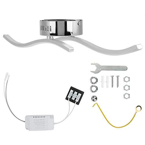 Les-Theresa Luces de Techo de luz LED Modernas e innovadoras Decoración de la Sala de Estar del hogar Blanco 85‑265V