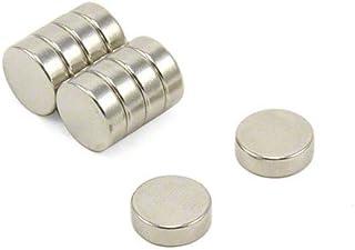 4,3kg force dadh/érence Magnet Expert/® 12mm diam/ètre x 6mm N42 n/éodyme aimant pack de 10