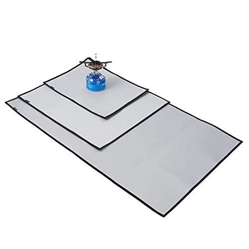 Schweißschutzdecke Schweißerdecke Löschdecke Schweißschutzmatte, Large Fiberglass Welding Blanket, für Kamin, Grilldecke oder Grillmatte, Original hitzebeständige Bodenschutzmatte Grillschutzmatte