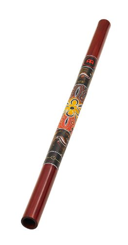 Didgeridoo, Bamboo, Red Design