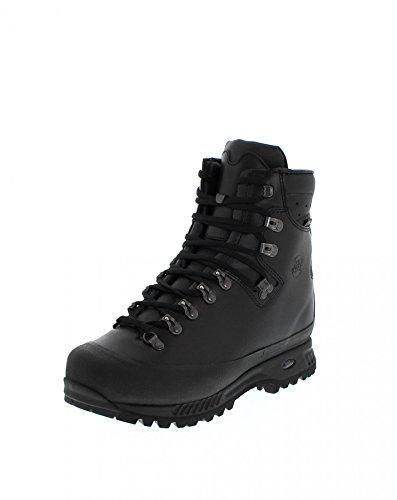 Hanwag M Alaska Wide GTX Schwarz, Herren Gore-Tex Wanderschuh, Größe EU 40.5 - Farbe Schwarz