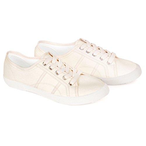Jonny´s Vegan Sneaker Natural Creme, Gr. 37 - (7710-6Y/MARFIL12/GR.37)
