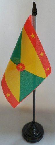 Lot de 12–15,2 x 10,2 cm Table flags-grenada