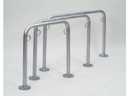 Fahrradständer Fahrrad Anlehnbügel TRUST 21 1000mm zum Aufdübeln