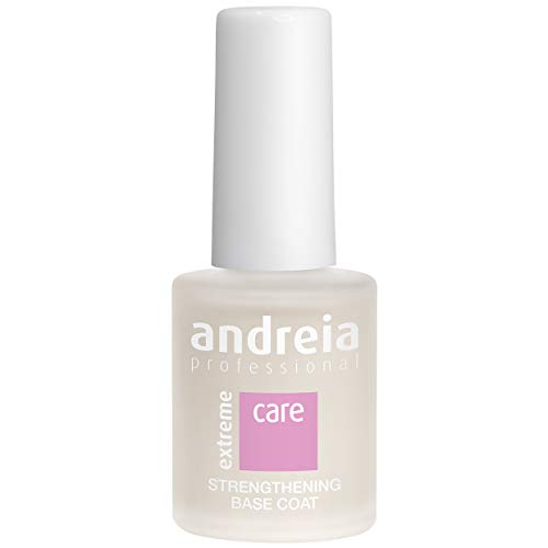 Andreia Professional Extreme Care Strengthening Base Coat - Pour des Ongles plus Forts - 10,5 ml