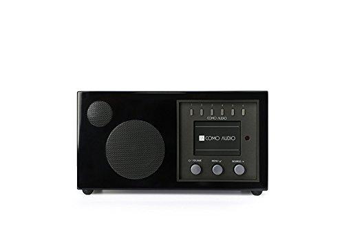 Como Audio: Solo - Wireless Musiksystem mit Internet-Radio, Spotify Connect, WLAN, FM und Bluetooth - Piano Black