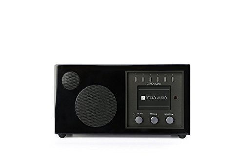 Como Audio: Solo - Wireless Music System with Internet Radio, Spotify Connect, Wi-Fi, FM, and Bluetooth (Piano Black)