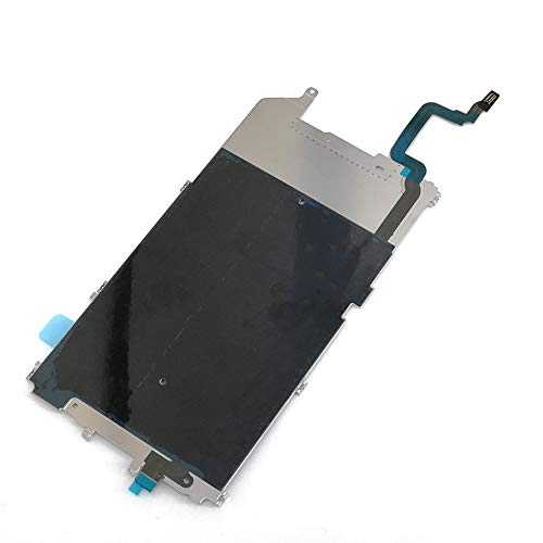 Screen Back Classic Metal Plate with Heat Shield / Home Button Flex Cable Preinstalled Replacment Part for Iphone 6 Plus (5.5'')