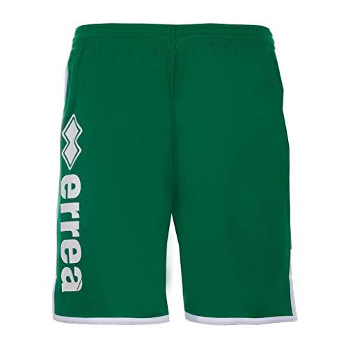 Errea Republic Pantaloncini Sport Uomo Ragazzo Essential SS19 Man Mono Shorts (Small, Verde)