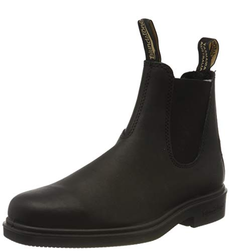 Blundstone Dress Series Chelsea Boot, Rustic Black, 6.5 M US Men's /8.5 M US Women's-5.5 AU
