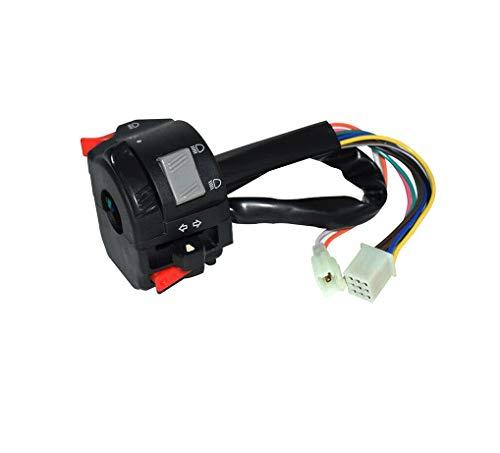 Interruptor de manillar PRZ864, 22 mm, 7/8 pulgadas, para quad, moto, UTV, ATV, ciclomotor, interruptor, luz de cruce, luz de posición, encendido/apagado