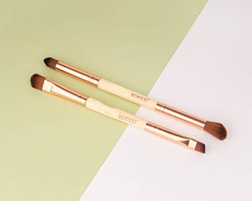 So Eco Œil Duo Maquillage Brosse Ensemble 1 Unité