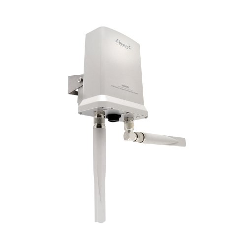 Hawking Technology Hi-Gain Outdoor Wireless-300N Dual Radio Smart Repeater (HOW2R1)