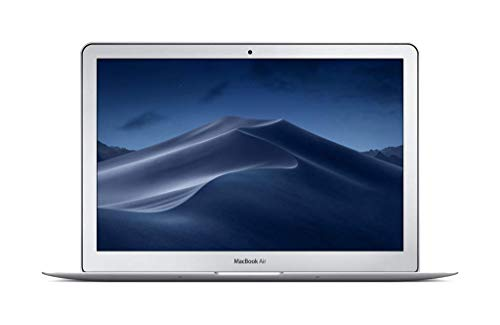 Apple MacBook Air (13-Inch, 2.2GHz Dual-Core Intel Core i7, 8GB RAM, 128GB SSD) - Silver (Renewed)