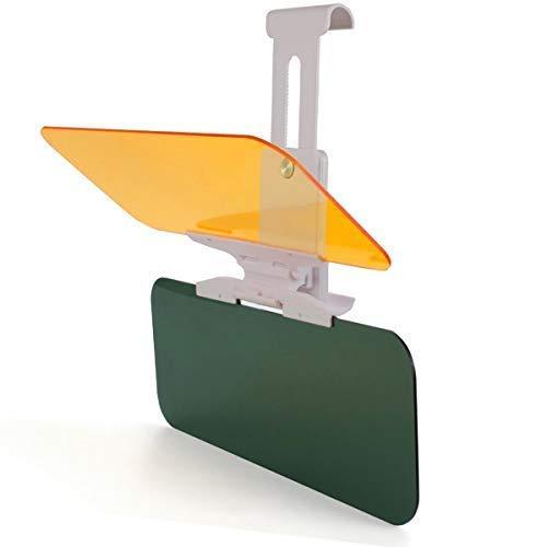 TourKing Car Sonnenblendenverlängerung, Auto-Antireflex-HD-Visier, Tag- und Nachtsicht-Augenschutz-Antireflex-Windschutzscheiben-Extender
