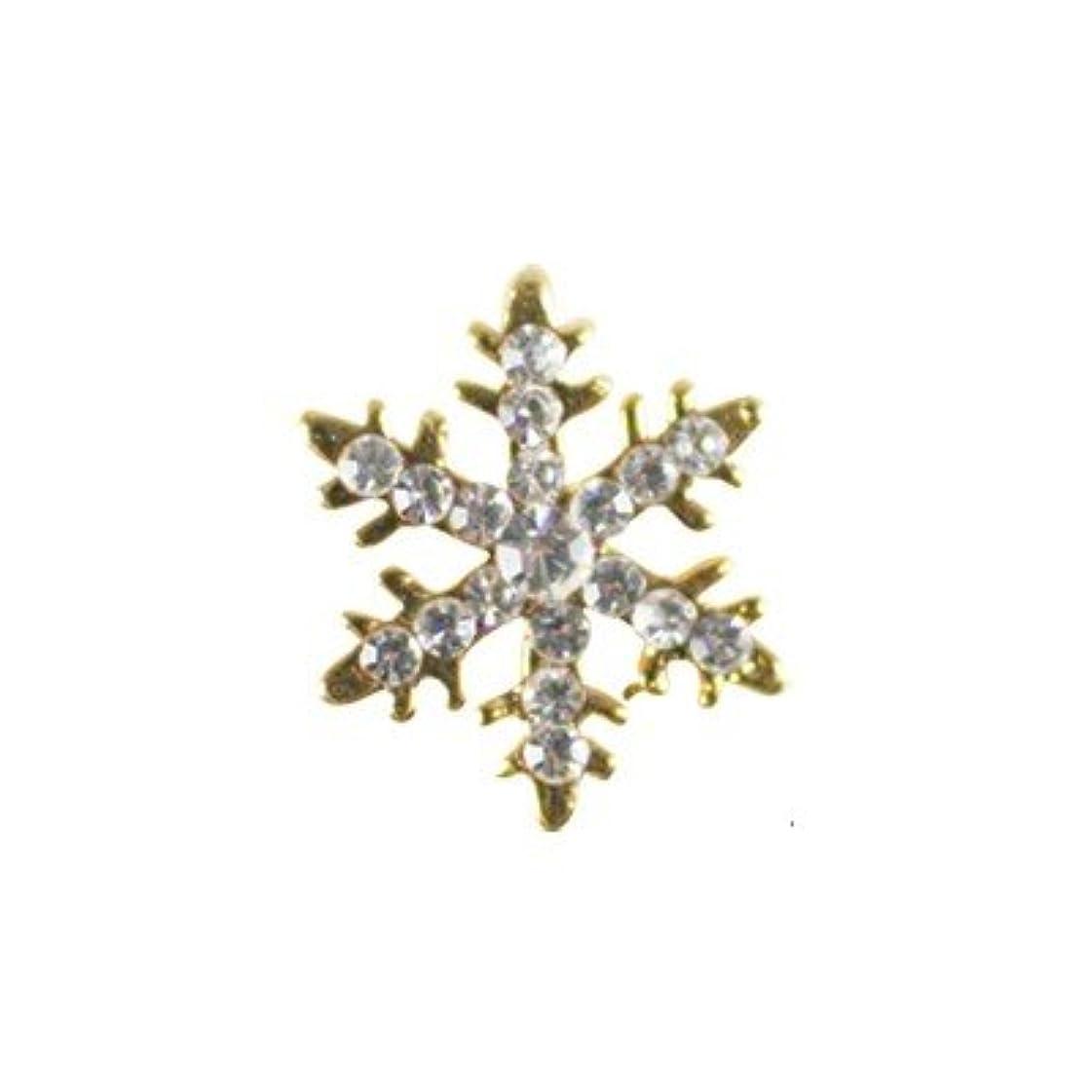 女王アセンブリフルーティークレア キラキラ スノーフレイク ゴールド クリスタル