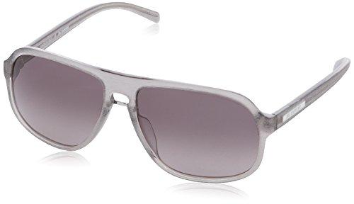 Jil Sander JS645S Oval Sonnenbrille, 45 Transparent Grey