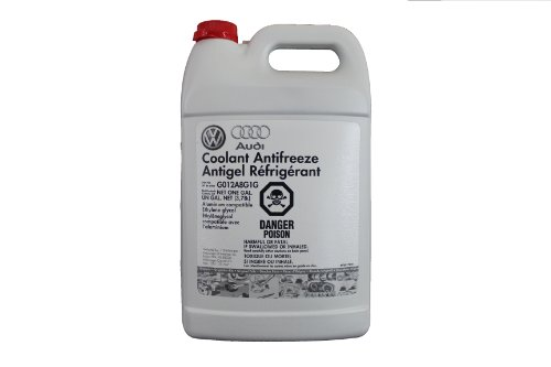 Audi Coolant Antifreeze Antigel Refrigerant (Part No. G013A8J1G), 1 Gallon