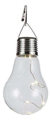 エイチツーオー 電球型LEDソーラーライト H9558